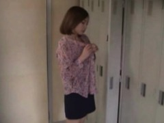 Voyeur clip of asian teen...